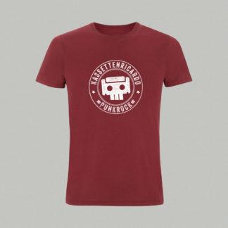 Kassettenricardo - Shirt Skull - burgundy