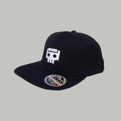 Kassettenricardo - Cap Skull - schwarz